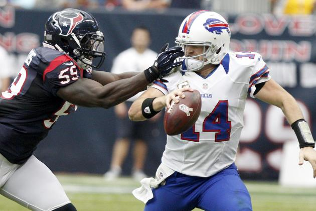 Bills vs. Texans: Buffalo's Refusal to Run Could Be Chan Gailey's Undoing