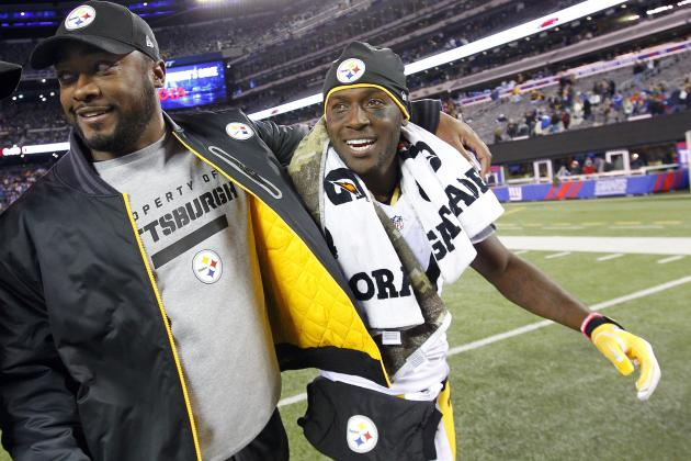 Antonio Brown: Why Steelers Must Rest Injured WR vs. Chiefs