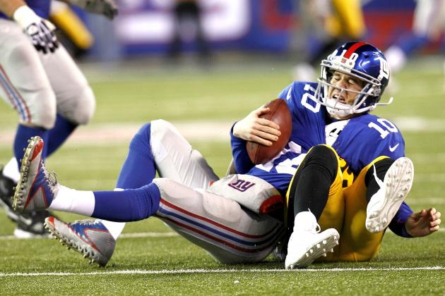 Steelers vs. Giants: Eli Off His Game Again, Leaves Door Open in NFC East
