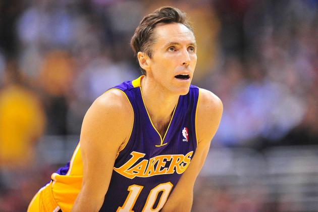 Steve Nash Injury: Updates on Lakers Star's Shin