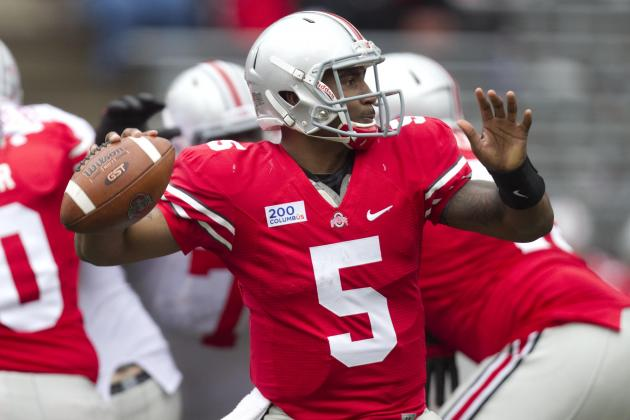 Ohio State Football: Braxton's Big Passing Day a Good Sign for the Buckeyes