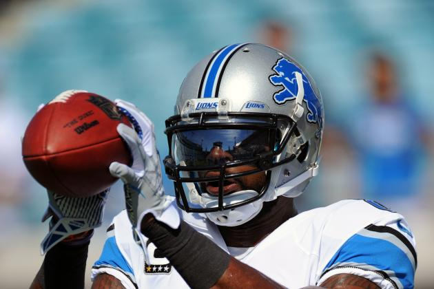 Calvin Johnson Overcomes Pain for Detroit Lions