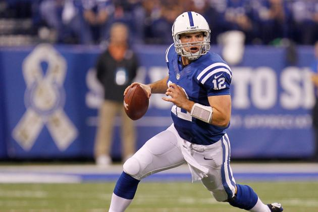 Indianapolis Colts: Is Andrew Luck Already Better Than Peyton Manning?