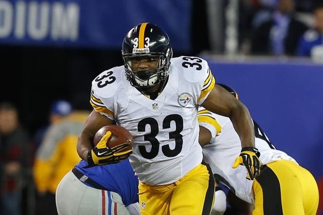 Updated Outlook, Analysis and Projections for Injury-Riddled Steelers RB Corps