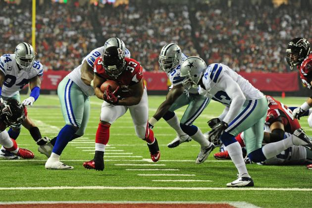 Turner Carries Unbeaten Falcons by Cowboys