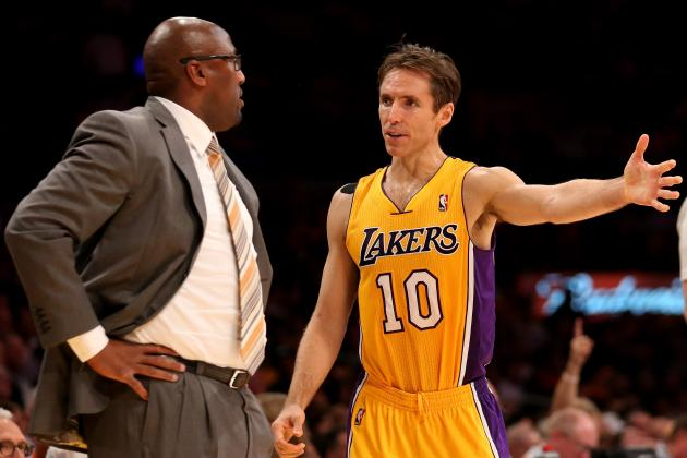Steve Nash Injury: How Will Lakers Compensate Without Star Point Guard?