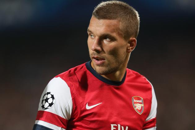 What Can We Make of Lukas Podolski's Recent Slump for Arsenal?