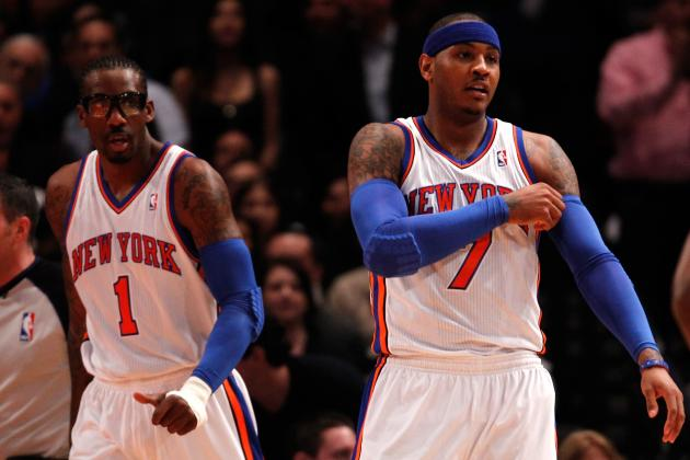Will Carmelo or Amar'e Get More Blame If Things Go Wrong for NY Knicks?