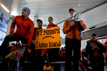 New York Marathon 2012: Runners' Support Shows Promise for Next Year's Event
