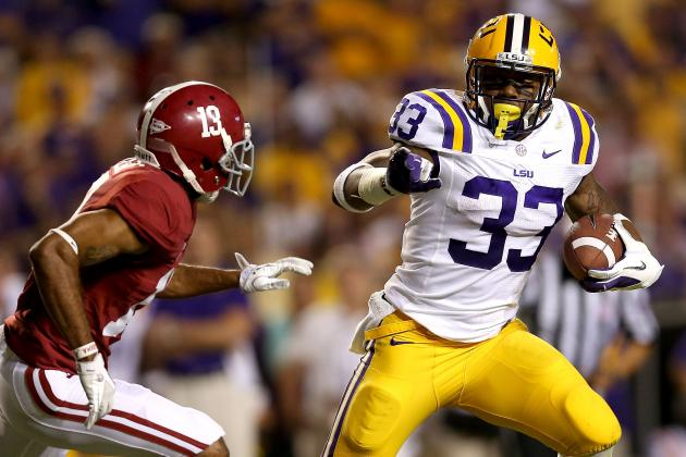 LSU Football: Grading Starters from the Alabama Game