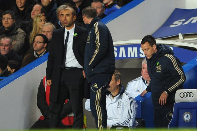 Roberto Di Matteo Unsure About John Terry Return Against Shakhtar