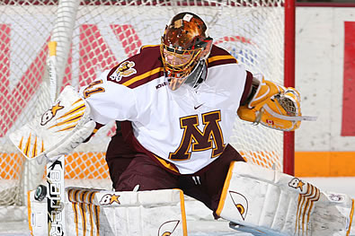 Noora Raty Sets Golden Gophers All-Time Wins Record