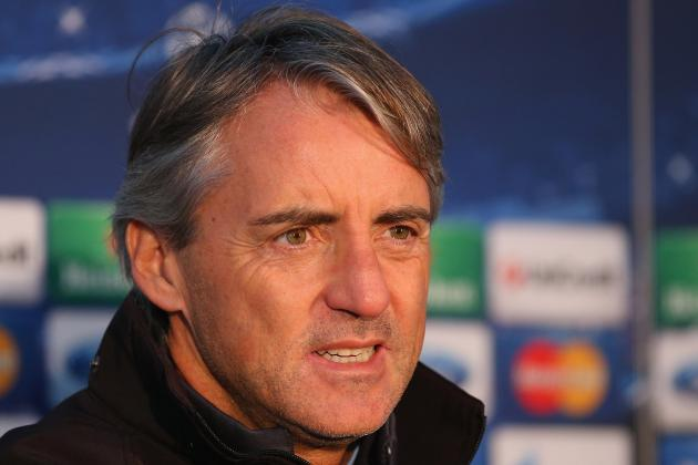 Roberto Mancini Blasts Reporters over Questions About Manchester City Future