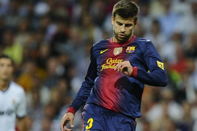 Gerard Pique Fit for Celtic Clash