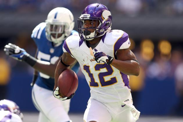 Percy Harvin: Fantasy Owners Shouldn't Trade WR Regardless of Injury Status