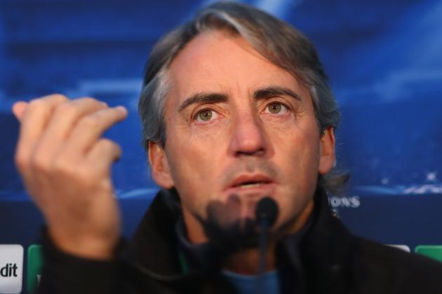 Manchester City's Roberto Mancini Demands Respect on Eve of Ajax Game