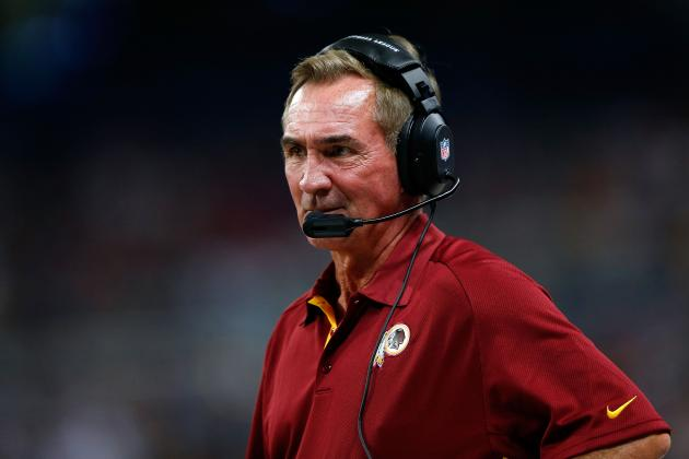 Washington Redskins Head Coach Mike Shanahan Again Moves Goal Posts for Success