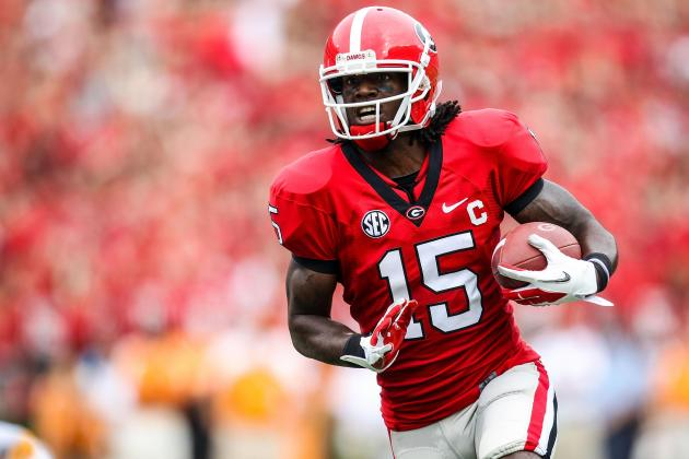 Injury to Georgia WR Marlon Brown Hurts Chances of SEC Title Game Upset of Bama