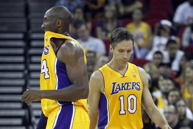 Steve Nash's Injury Opens Door for L.A. Lakers to Solve Identity Crisis