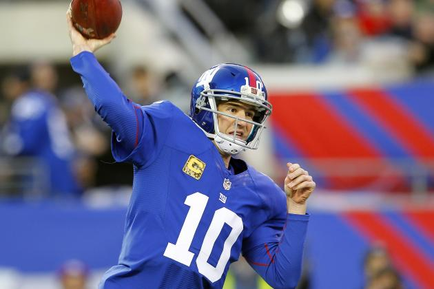 Giants Need an Eli Comeback, Fast
