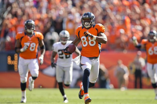 Eric Decker, Demaryius Thomas Continue to Shine for Broncos
