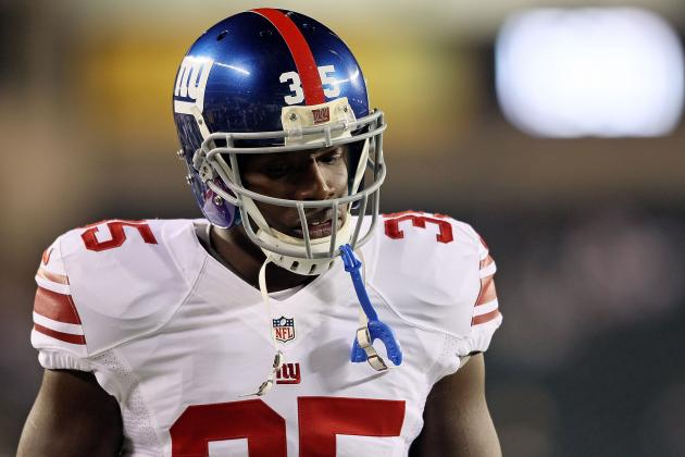 Andre Brown: New York Giants RB's Nose for End Zone Makes Him a Fantasy Keeper