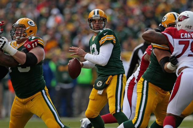 Stats About Aaron Rodgers' Four TD Passes Yesterday That You Didn't Know