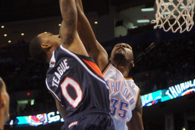Video: Jeff Teague Dunks All over Kevin Durant