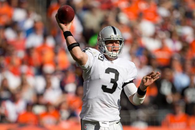 Oakland Raiders: Why Carson Palmer Is Not the Problem for the Raiders