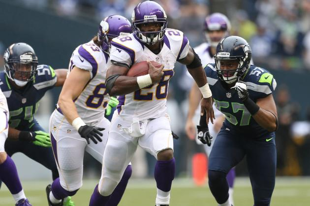 Fantasy Football: Adrian Peterson Shines in 'NFC Random Thoughts' for Week 9