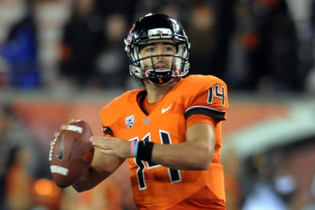 Vaz Overcomes Shaky Start as Oregon St. Rolls