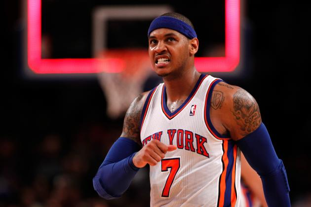 Breaking Down How Carmelo Anthony Is Better off Without Jeremy Lin