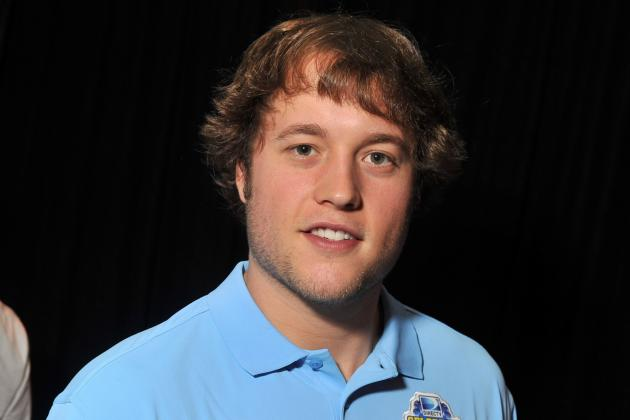 Matthew Stafford Wants You to Grow a Mustache