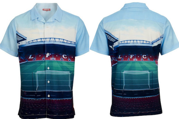 Liverpool FC: 'Stadium Shirt' Featuring Anfield Interior Now on Sale (Picture)