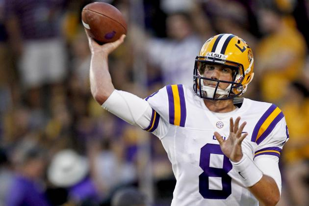Mettenberger's Breakout Game Something for the LSU Offense to Build On