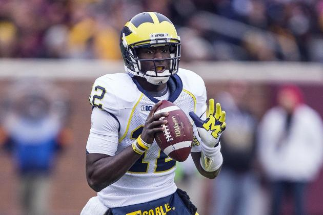 Michigan Football: Is Devin Gardner a Better Fit at QB or WR?
