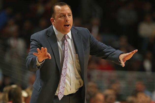 Bulls Coach Tom Thibodeau Stressing Team Concept Without Derrick Rose