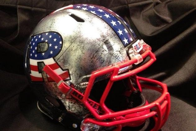 Rutgers Going Patriotic with Stars and Stripes Helmet