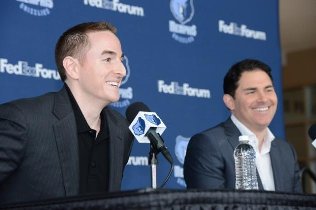 Robert Pera, Jason Levien Make Grizzlies Debut