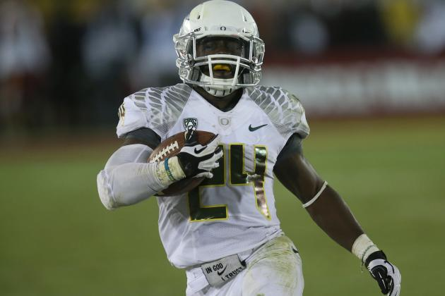 Heisman Trophy Watch: Can Oregon's Kenjon Barner Win It This Late?