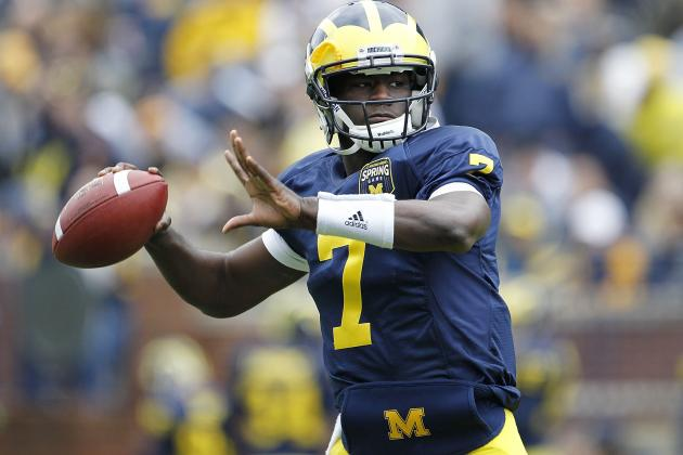Michigan WR Devin Gardner to Move Back to Quarterback in 2013