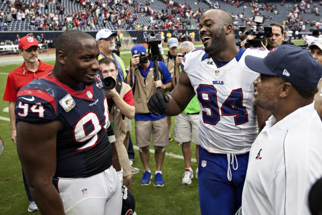 Bills' Williams: 'It Was Great' Getting Booed in Houston