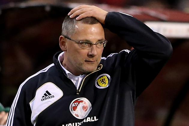 Scotland Part Company with Levein