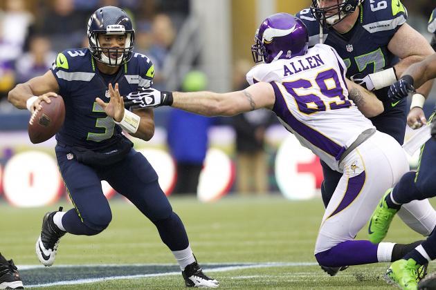 Russell Wilson's Maturity on Full Display in Win over Vikings