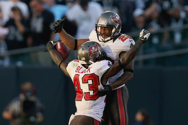 Bucs DBs Come Up with Crucial Turnovers