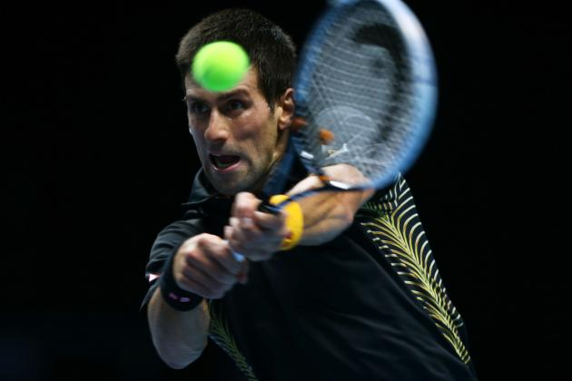 Djokovic Beats Tsonga in Two Sets