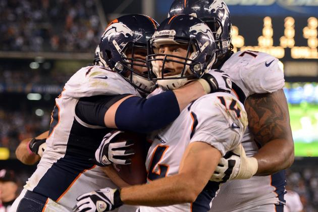 Broncos' Chris Kuper to Miss 2-4 Weeks with Severely Sprained Ankle