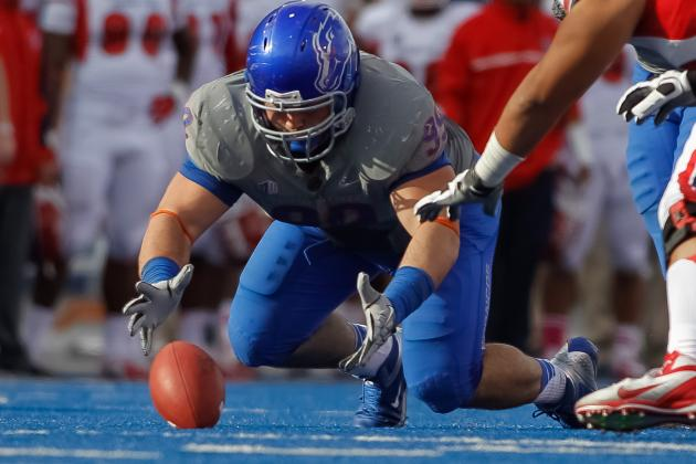 Boise St Loses Atkinson for Season with Torn ACL