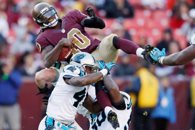 Panthers Exhibit How Defenses Have Learned to Defend Robert Griffin III