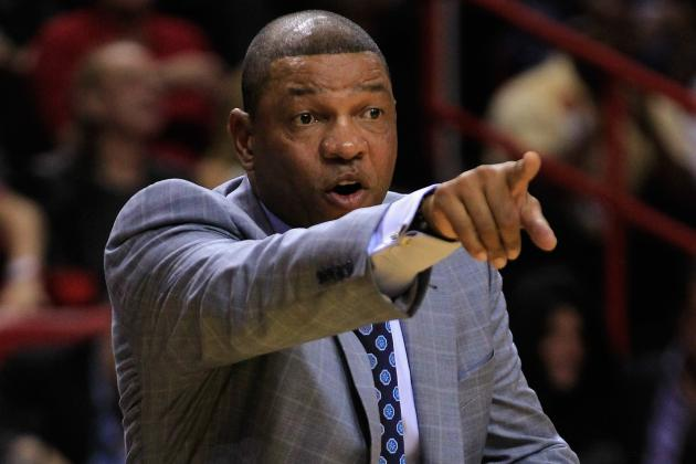 Doc Rivers: Celtics Are 'Probably Behind' Where They Need to Be